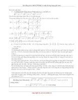 Tài liệu Bất đẳng thức MINCÔPXKI và một số ứng dụng giải toán pptx