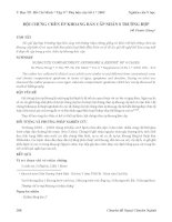 Tài liệu Hội chứng chèn ép khoang bán cấp nhân 8 trường hợp pptx