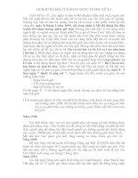 Tài liệu LỊCH SỬ RA ĐỜI CỦA NGÀY QUỐC TẾ PHỤ NỮ 8-3 pdf