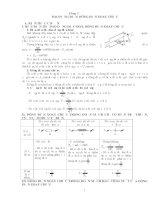 Tài liệu Trắc nghiệm chương 3: dao động điện - dòng điện xoay chiều (kèm đáp án) pptx