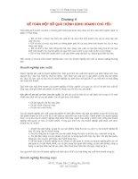 Tài liệu Chương V KẾ TOÁN MỘT SỐ QUÁ TRÌNH KINH DOANH CHỦ YẾU doc