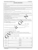 Tài liệu Trung tâm BDVH & LTĐH HÙNG VƯƠNG GV: Bùi Gia Nội TÁN SẮC ÁNH SÁNG Lý thuyết: *) pptx