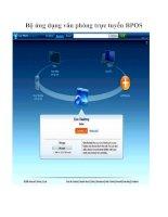 Tài liệu Bộ ứng dụng văn phòng trực tuyến BPOS doc