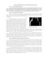 Tài liệu THAY KHỚP HÁNG Ở NGƯỜI CAO TUỔI doc