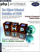Tài liệu The Object Oriented Evolution of PHP5 ppt