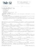 Tài liệu Bài tập trắc nghiệm về sắt (Luyện thi ĐH 2010) ppt