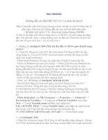 Tài liệu Hướng dẫn cài đặt ORCAD 10.5 ppt