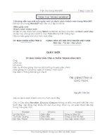 Tài liệu Cách trộn thư trong WordXP doc