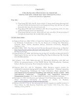 Tài liệu Chuyên đề 2 : ỨNG DỤNG GIS TÍNH TOÁN CÁC THAM SỐ TRONG PHƯƠNG TRÌNH MẤT ĐẤT PHỔ DỤNG USLE ppt