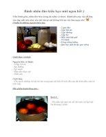 Tài liệu Bánh nhân đào kiểu kẹo mút ngon hết ý pdf