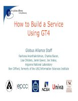 Ebook - How to Build a Service Using GT4