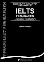 Tài liệu Check Your Vocabulary for IELTS Examination pptx