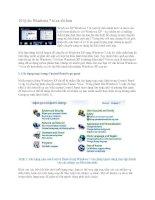Tài liệu 10 lý do Windows 7 tỏ ra tốt hơn Windows XP doc