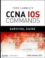Tài liệu Todd Lammle's CCNA ® IOS ® Command Survival Guide pptx