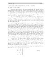 Tài liệu Chương III: Biến dạng và độ lún của nền đất doc