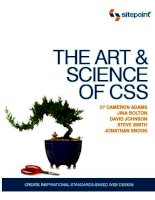 Tài liệu The Art and Science of CSS pdf