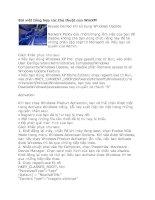 Tài liệu Bài viết tổng hợp các thủ thuật của WinXP! pdf