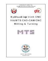 Tài liệu Kỹ thuật lập trình CNC Với MTS CAD-CAM/CNC ppt