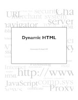 Tài liệu Dynamic HTML in Netscape Communicator doc