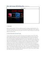 Tài liệu Bảo mật mạng LAN không dây pdf