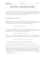 Tài liệu Bài giảng: Kinh Tế Lượng ứng dụng (Chương 4) pptx