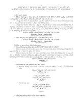 Tài liệu Một số quy định về thể thức trình bày văn bản ppt