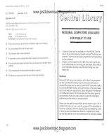 Tài liệu Cambridge IELTS 2 part 5 docx