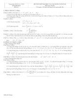Tài liệu Đề và đáp án luyện thi đại học 2010 khối A-B-C-D đề 3 pptx