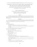 Tài liệu NGHIÊN CỨU VIỆC DẠY NGỮ PHÁP TIẾNG ANH CHO HỌC SINH TIỂU HỌC TẠI CÁC TRƯỜNG TIỂU HỌC doc