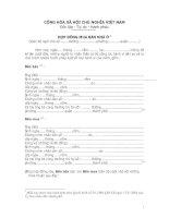 Tài liệu Hợp đồng mua bán nhà ở (toàn bộ ngôi nhà) doc