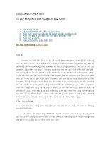 Tài liệu Chapter 20: Các công cụ phân tích và lập kế hoạch của giám đốc bán hàng doc