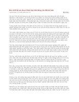 Tài liệu Bản chất tài sản được trình bày trên Bảng cân đối kế toán pdf
