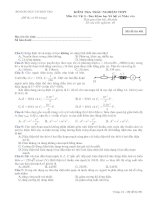Tài liệu Bộ đề ôn thi tốt nghiệp ban xã hội môn lý đề 3 doc