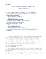 Tài liệu CHƯƠNG 7 PHÂN TÍCH ĐỐI THỦ CẠNH TRANH TRONG NGÀNH NGÂN HÀNG pptx
