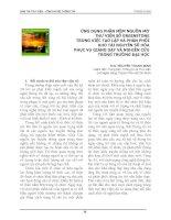 Tài liệu ỨNG DỤNG PHẦN MỀM NGUỒN MỞ THƯ VIỆN SỐ GREENSTONE pptx
