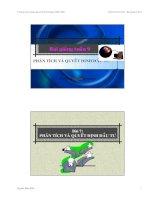 Tài liệu Chương trình giảng dạy về kinh tế: Phân tích tài chính docx