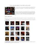 Tài liệu Tự tạo ảnh ngộ nghĩnh với các dịch vụ trực tuyến pdf