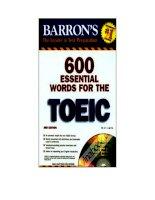 Tài liệu Bài tập trắc nghiệm luyện thi Toeic pdf