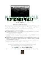 Tài liệu Playing With Pencils docx