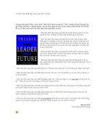 Tài liệu 10 điều nhà lãnh đạo hiệu quả biết và làm doc