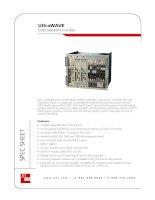 Tài liệu UltraWAVE GSM Network-In-A-Box pptx