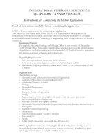 Tài liệu INTERNATIONAL FULBRIGHT SCIENCE AND TECHNOLOGY AWARD PROGRAM doc