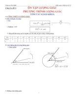 Chuyên đề 6 phương trình lượng giác