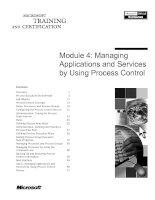 Tài liệu Module 4: Managing Applications and Services by Using Process Control pdf