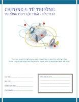 lý thuyết, bài tập về từ trường lớp 11