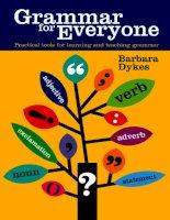 Tài liệu Grammar for everyone part 1 doc