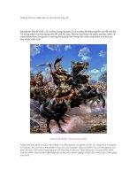 Tài liệu Những bài học lãnh đạo từ Alexander Đại đế doc