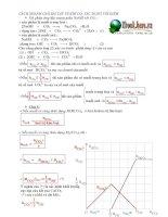 Tài liệu Cách giải nhanh bài tập CO2 tác dụng với kiềm ppt