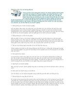 Tài liệu Những tư liệu hữu ích trong tiếp thị docx