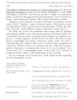 Tài liệu Essential guide to writing part 4 docx